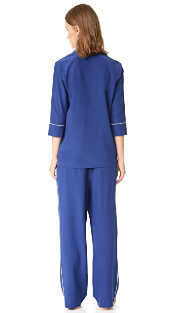 Zhoulii Victoria Pajama Set