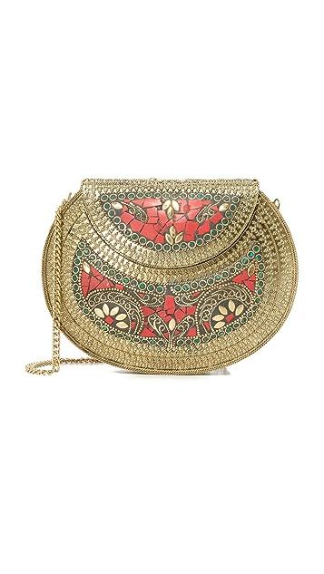 Zhuu Metal Saddle Bag