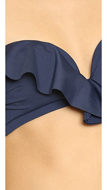 Zimmermann Separates Frill Bandeau Top
