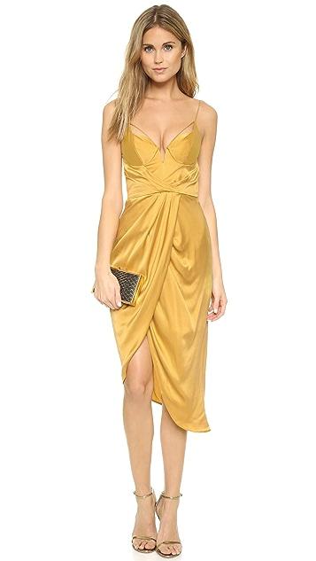 Zimmermann Sueded Silk Dress