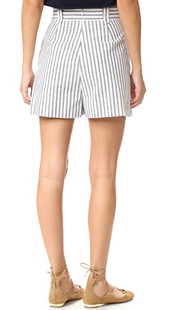 Zimmermann Zephyr Button Shorts