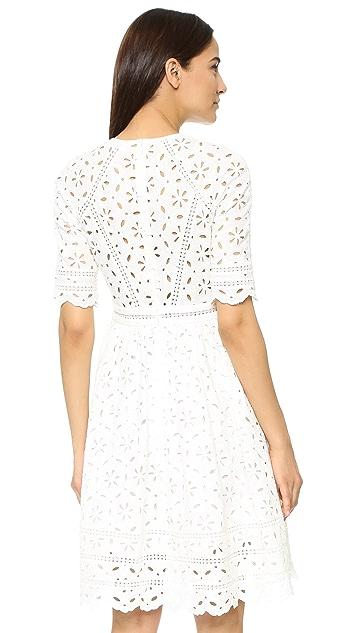 Zimmermann Roza Broderie Day Dress