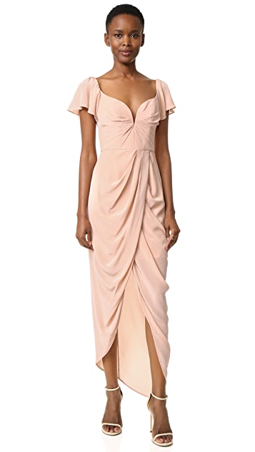 Zimmermann Silk Flutter Long Dress