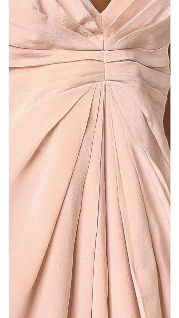 Zimmermann Silk Crossback Long Dress