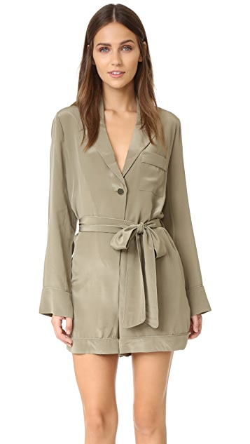 Zimmermann Silk Lounge Romper