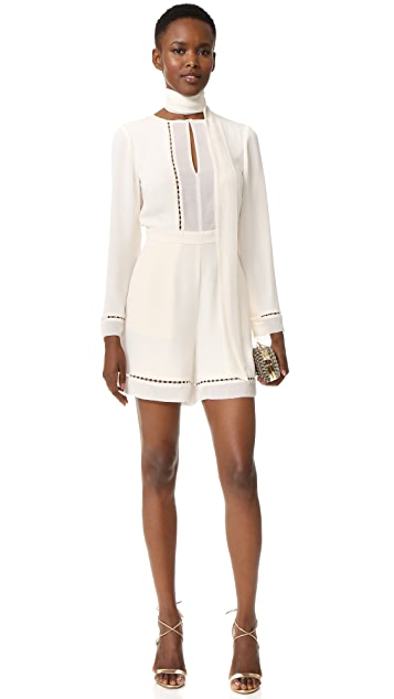 Zimmermann Tie Neck Playsuit