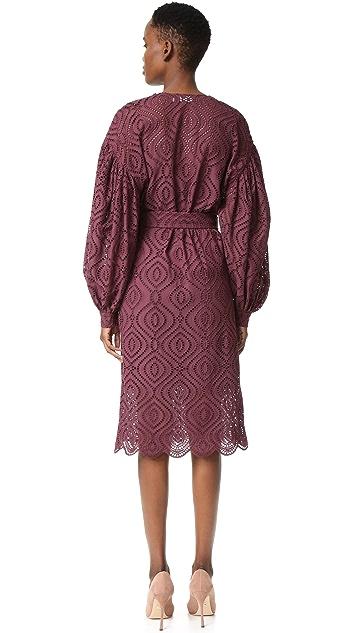 Zimmermann Karmic Embroidered Dress