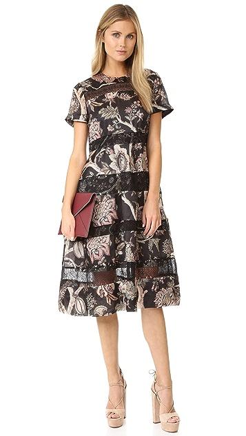 Zimmermann Lavish Bell Midi Dress