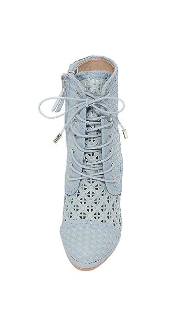 Zimmermann Weave Ankle Booties