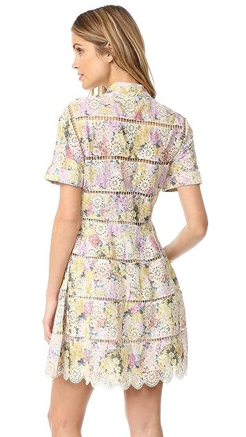 Zimmermann Valour Hydrangea Bell Dress