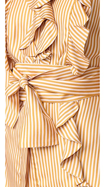 Zimmermann Winsome Flounce Shirt