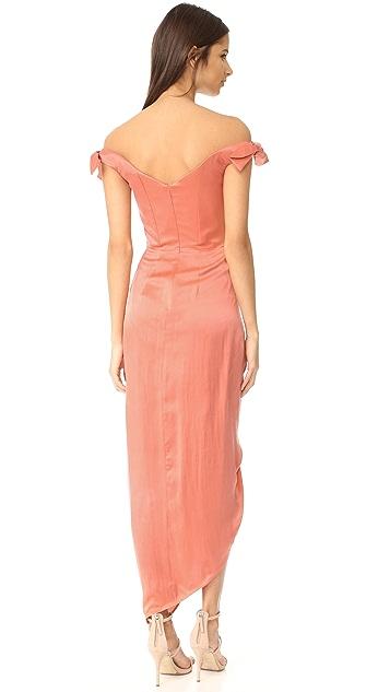 Zimmermann Winsome Drape Cocktail Dress