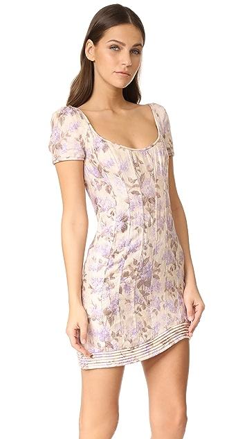 Zimmermann Stranded Corselet Dress