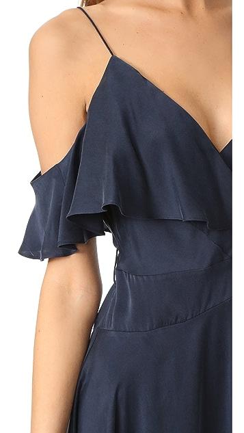 Zimmermann Asymmetrical Wrap Dress