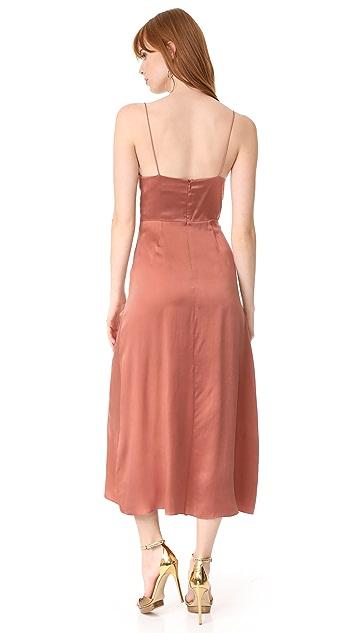 Zimmermann Sueded Tuck Dress