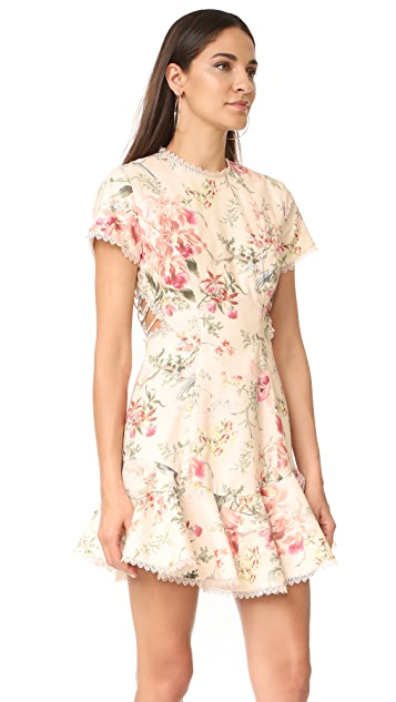 Zimmermann Mercer Flutter Dress