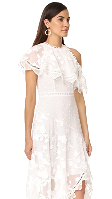 Zimmermann Mercer Bird Floating Dress
