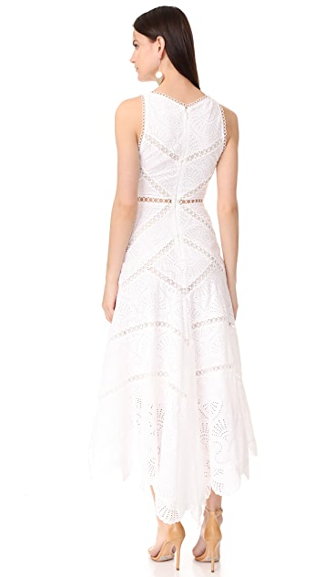Zimmermann Mercer Fan Dress