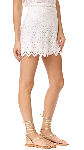 Zimmermann Divinity Wheel Shorts