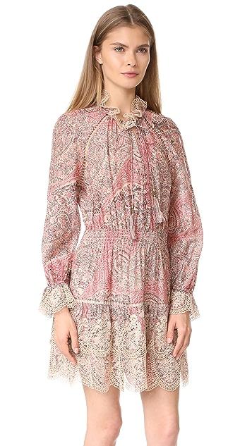 Zimmermann Tulsi Paisley Mini Dress