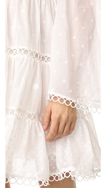 Zimmermann Jasper Dot Floating Dress