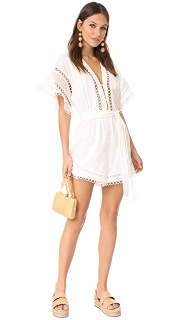 Zimmermann Jasper Dot Floating Romper