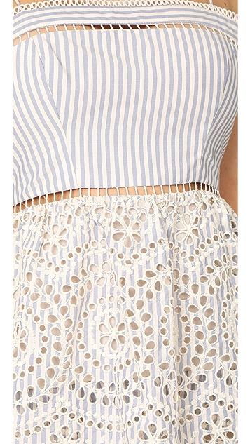 Zimmermann Meridian Stripe Sun Dress