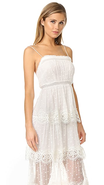 Zimmermann Meridian Circle Lace Dress