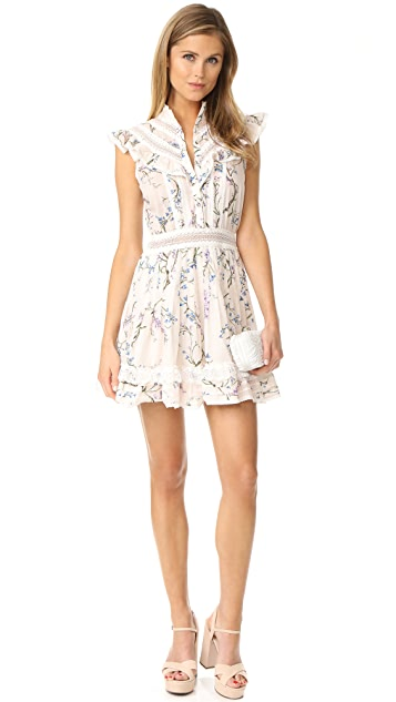 Zimmermann Paradiso Lilac Flutter Dress