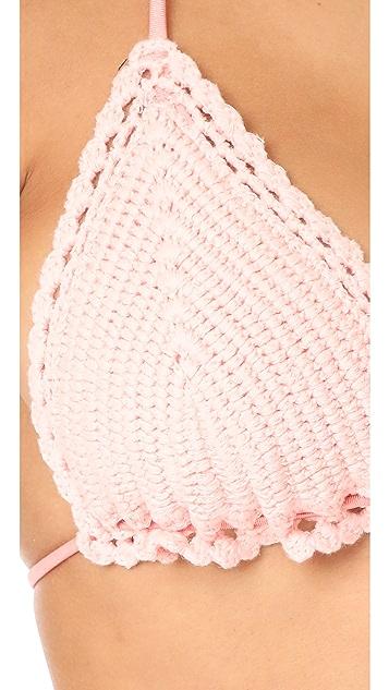 Zimmermann Separates Crochet Bikini Top