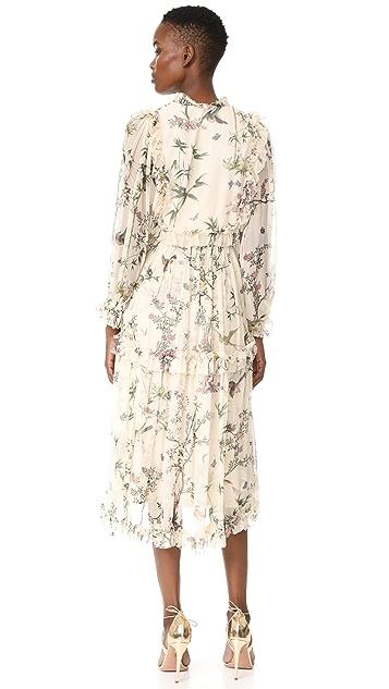 Zimmermann Maples Frill Dress
