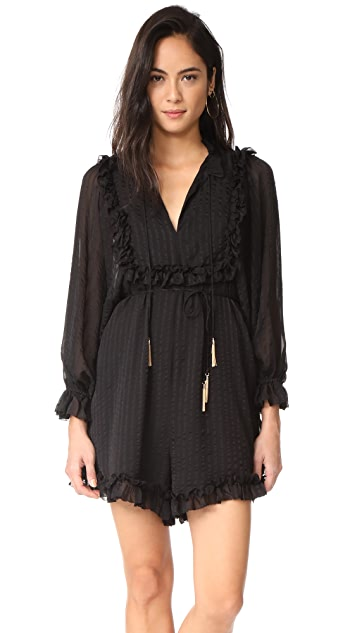 Zimmermann Maples Frill Romper