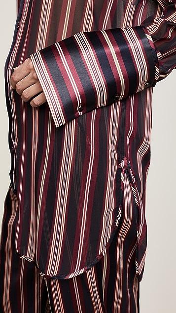 Zimmermann Folly Dapper Asymmetric Shirt