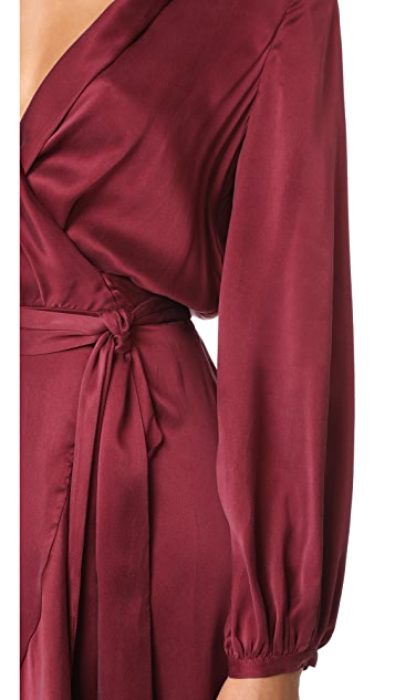 Zimmermann Wrap Flounce Dress