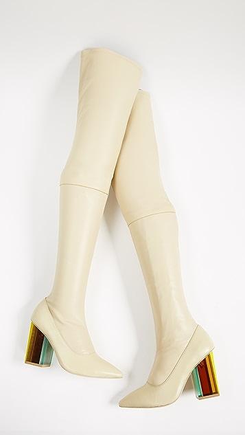 Zimmermann Strech Thigh High Boots