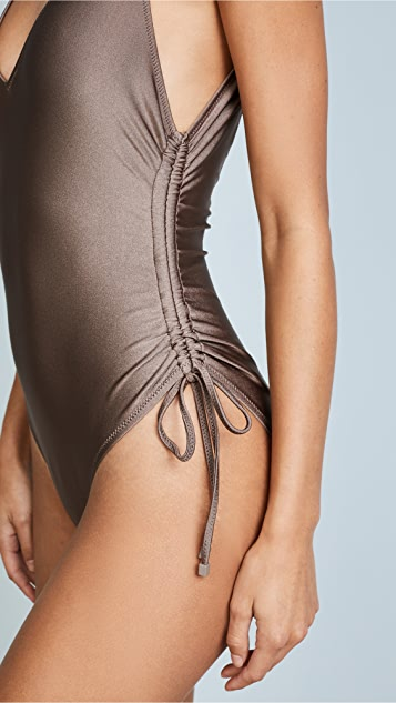 Zimmermann Prima Ruched One Piece