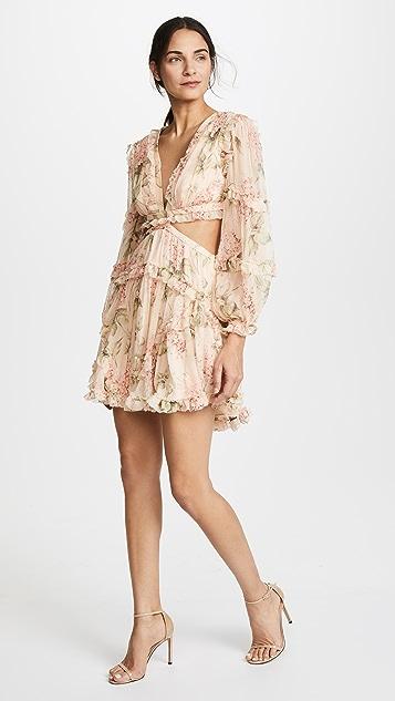 Zimmermann Prima Floating Cutout Dress