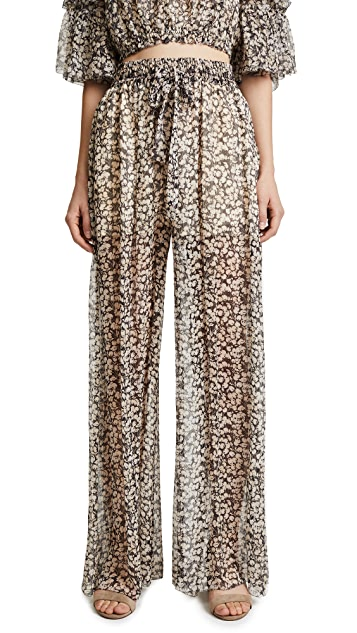 Zimmermann Prima Cherry Pants