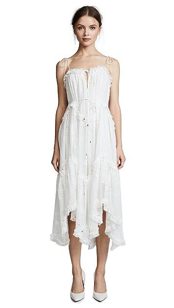 Zimmermann Prima Bow Floating Dress