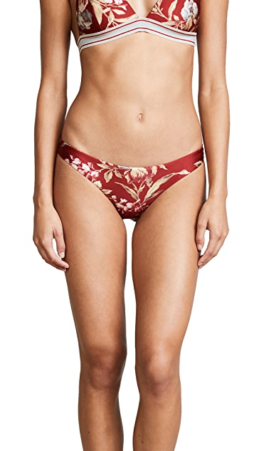 Zimmermann Corsair Skinny Bikini Bottoms