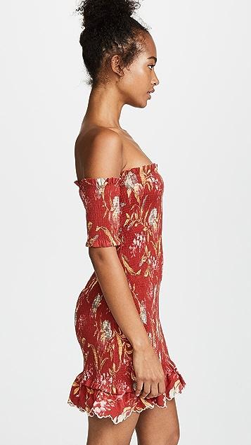 Zimmermann Corsair Smocked Dress