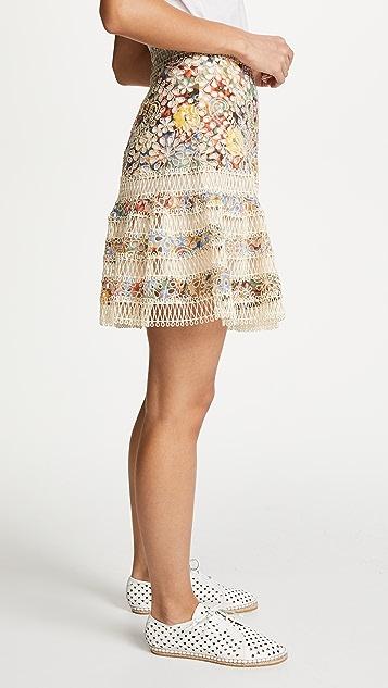 Zimmermann Lovelorn Flutter Skirt
