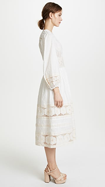 Zimmermann Prima Broiderie Day Dress