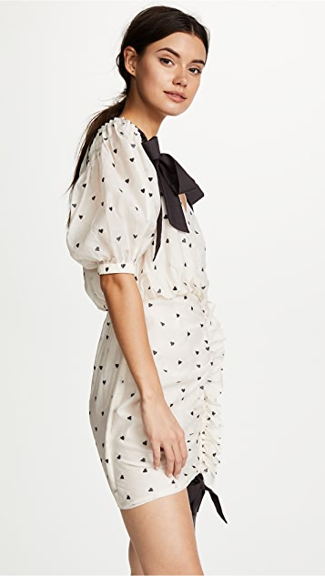 Zimmermann Painted Heart Tie Dress