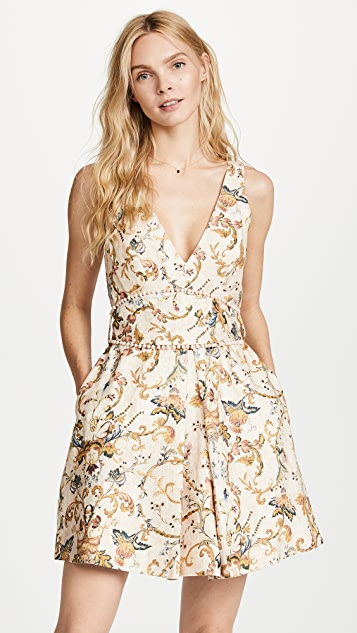 Zimmermann Painted Heart Shift Dress