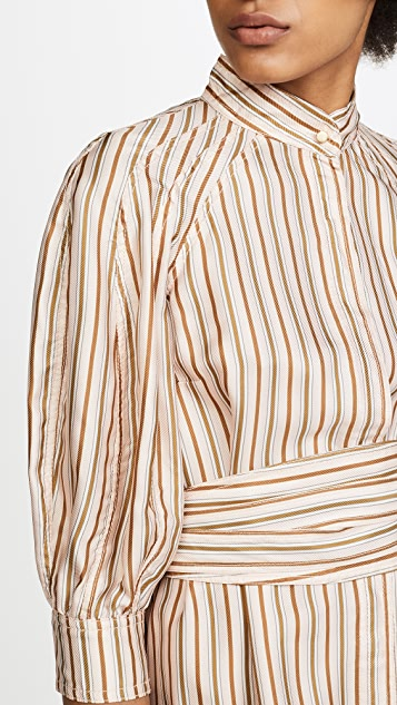 Zimmermann Painted Heart Mini Shirtdress