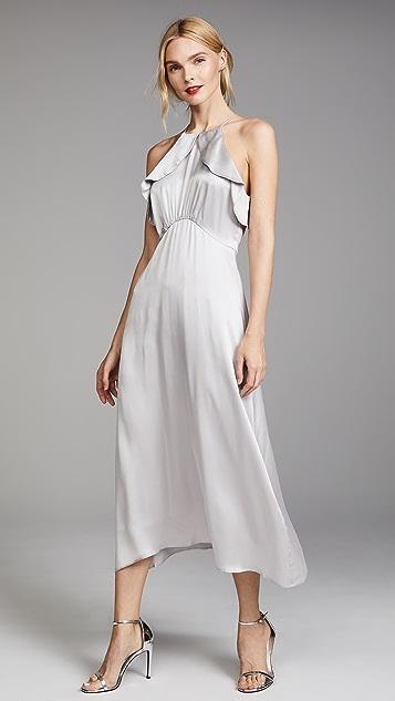 Zimmermann Ruffle Midi Dress