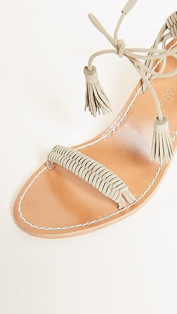 Zimmermann Wrap Weave Heels