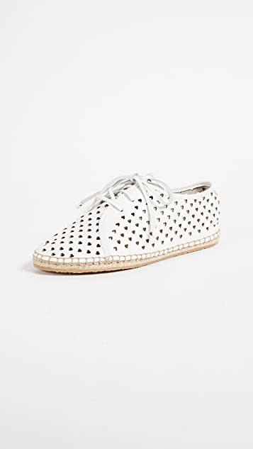 Zimmermann Heart Lace Up Espadrilles