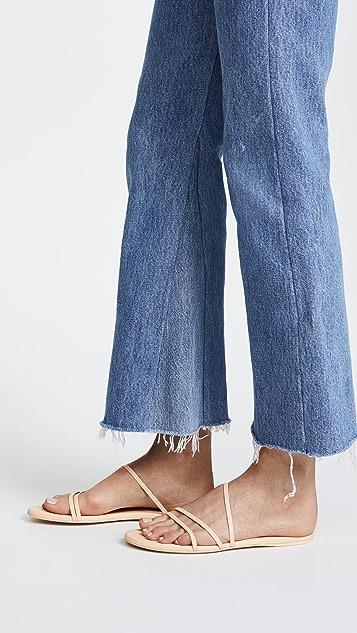 Zimmermann Cross Strap Sandals